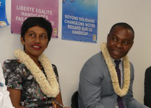 Thani Mohamed et Ericka Bareigts