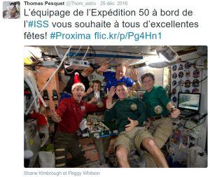 ISS L'équipage