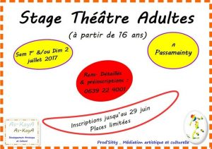 AAA Stage théâtre adulte