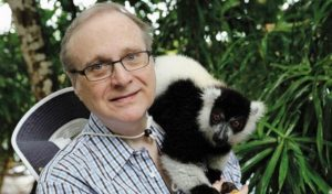 Paul Allen à Madagascar en mai dernier (Photo: FB/JIR)