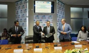La signature de la convention Interreg V entre Madagascar et La Réunion