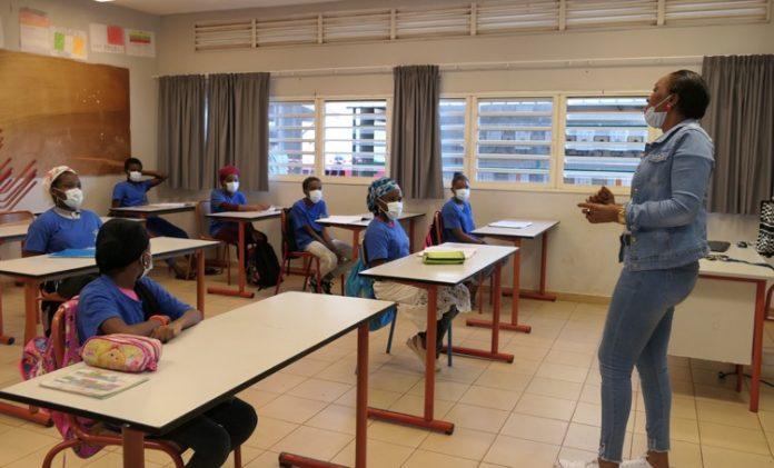 Collège de Koungou, Mayotte