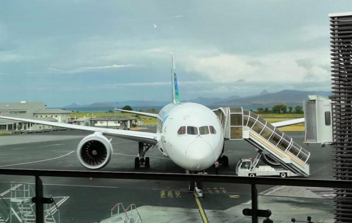B787, Air Austral, Mayotte