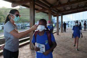 Température, élèves, Koungou, Mayotte