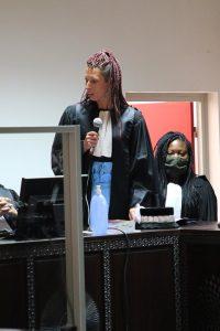 Morgane Pajak-Boulet a lancé un vibrant réquisitoire à l'adresse de son supérieur