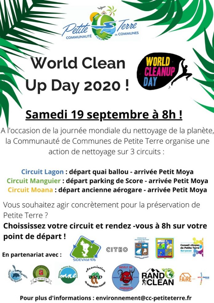 world clean up day, Mayotte