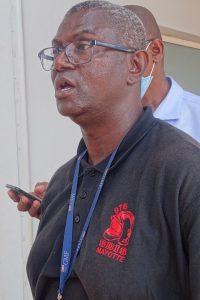 Colo Bouchourani, délégué syndical et porte parole de l'intersyndicale du SDIS