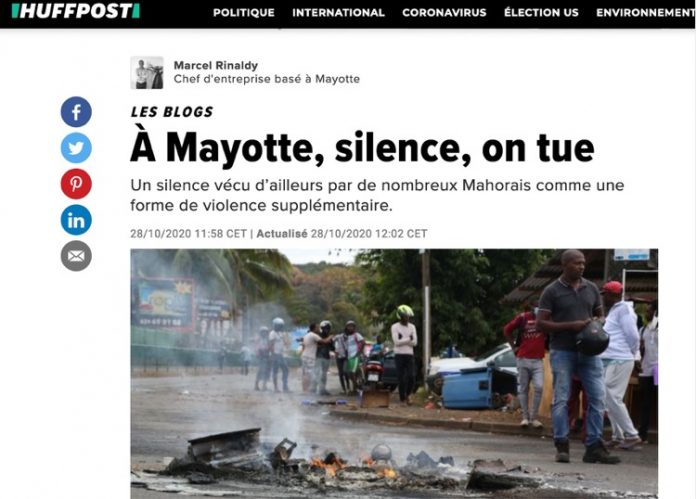 Huffington Post, Mayotte