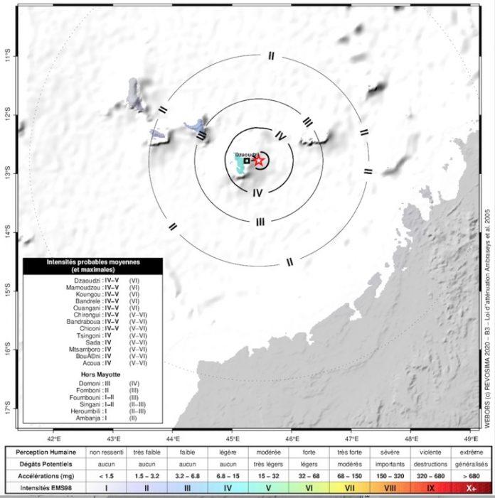séisme, REVOSIMA, Mayotte