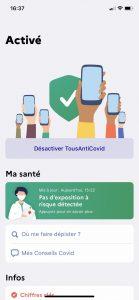 Application, Tousanticovid, Mayotte