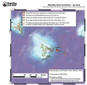 REVOSIMA, Mayotte, volcan,