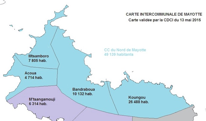 Intercommunalités, Mayotte, communauté d'agglomération