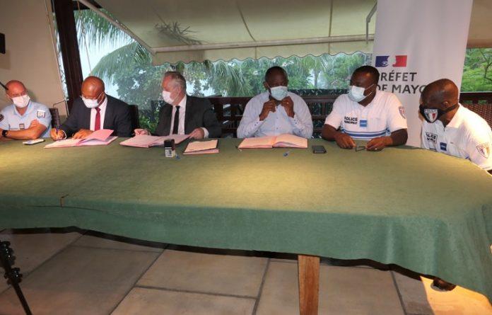 Pacte de sécurité, Mayotte