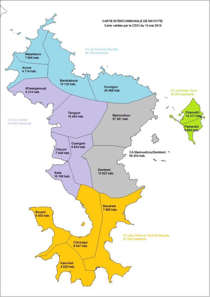 Intercommunalité, CDCI, Mayotte