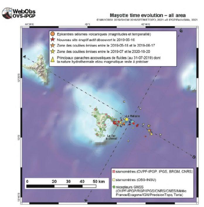 Volcan, BRGM, REVOSIMA, Mayotte