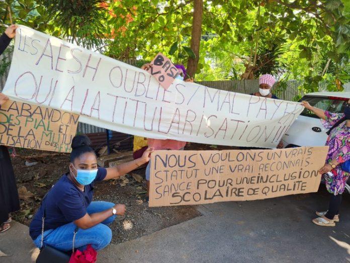 AESH, Mayotte
