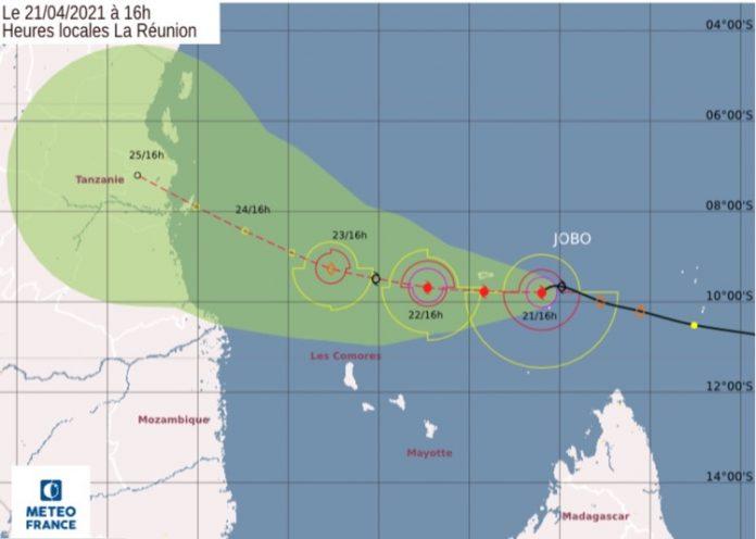 Météo France, Jobo, cyclone, Mayotte