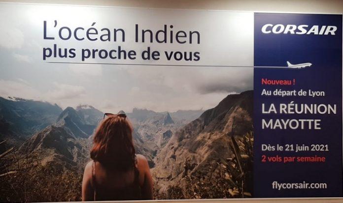 Corsair, Mayotte, La Réunion, Lyon, Marseille
