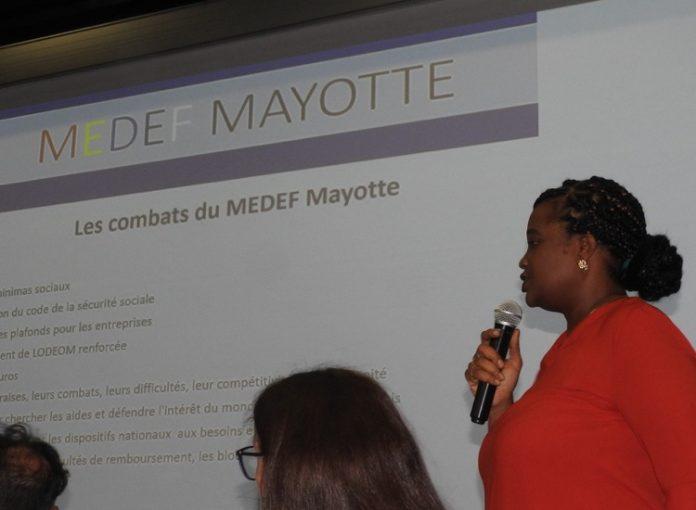 Médef, Mayotte, Carla Baltus
