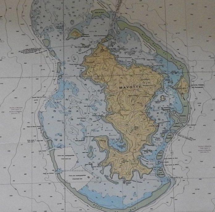 Parc naturel marin, SHOM, Mayotte