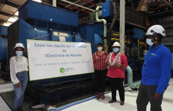 EDM, bioliquide, colza, biodiesel, électricité, CRE, Mayotte