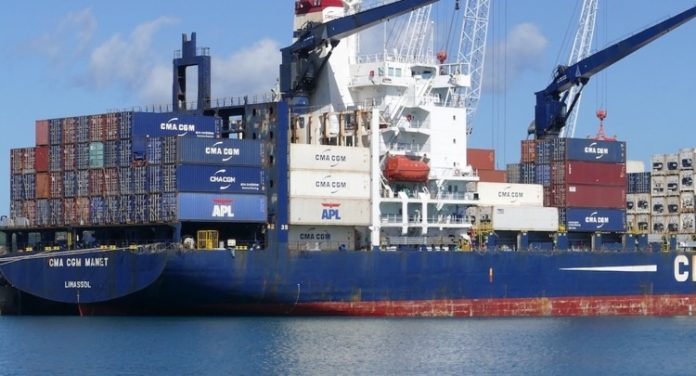 CMA-CGM, Mayotte, Longoni, container