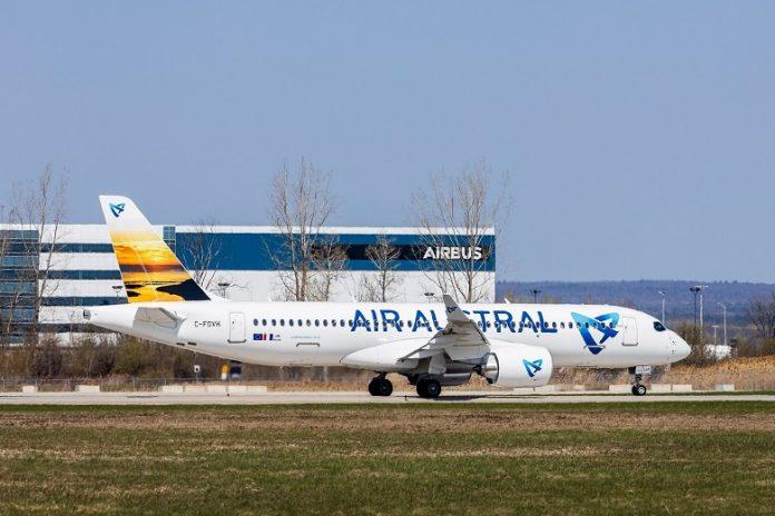 Airbus, Air Austral, Mayotte, La Réunion