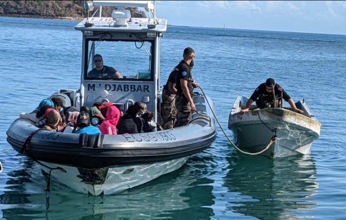 Immigration, Mayotte, PAF