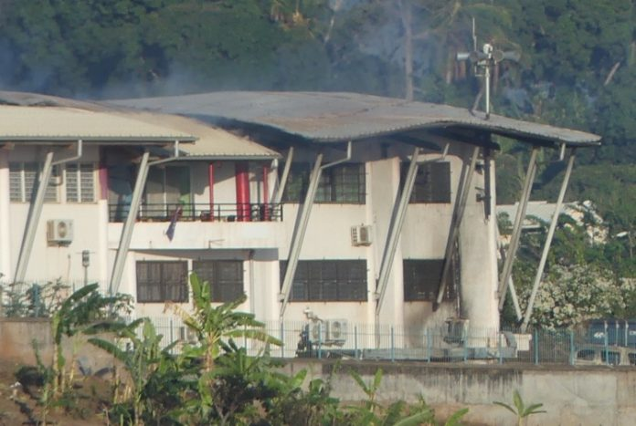 Incendie, Koungou, Mayotte