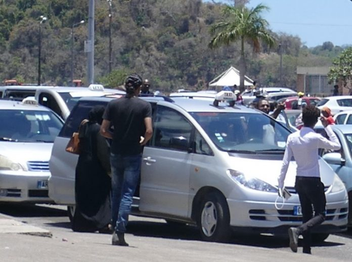 Taxi, Mayotte