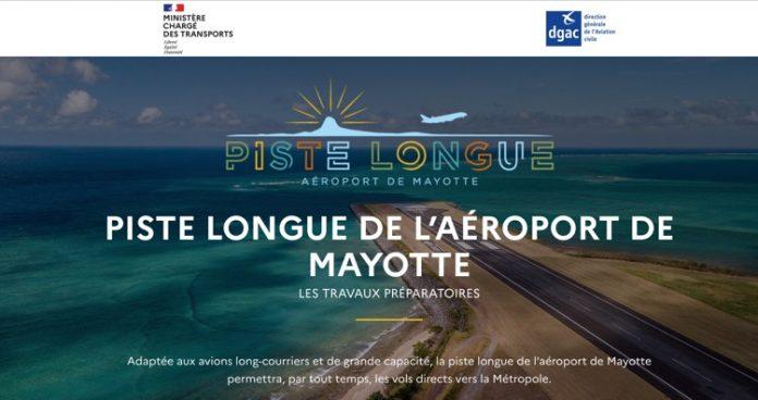 Piste longue, aéroport, Mayotte